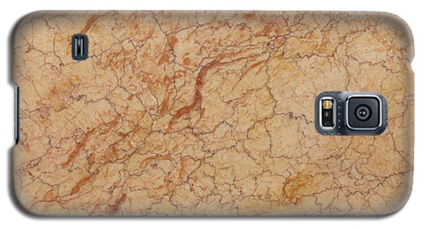 Crema Valencia Granite Galaxy S5 Case by Anthony Totah