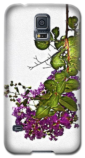 Crepe Myrtle In Oil Galaxy S5 Case