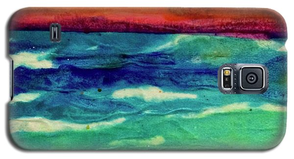 Crepe Paper Sunset Galaxy S5 Case