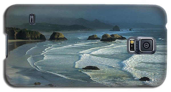 Crescent Beach And Surf Galaxy S5 Case