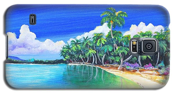 Crescent Beach Galaxy S5 Case by Patricia Piffath