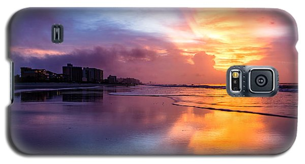 Crescent Beach Sunrise Galaxy S5 Case