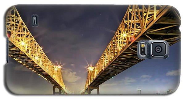 Crescent City Bridge In New Orleans Galaxy S5 Case