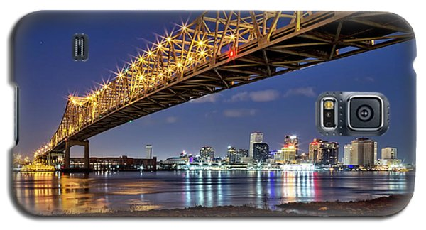 Crescent City Bridge, New Orleans Galaxy S5 Case