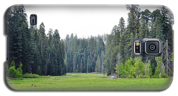 Galaxy S5 Case featuring the photograph Crescent Meadow by Kyle Hanson