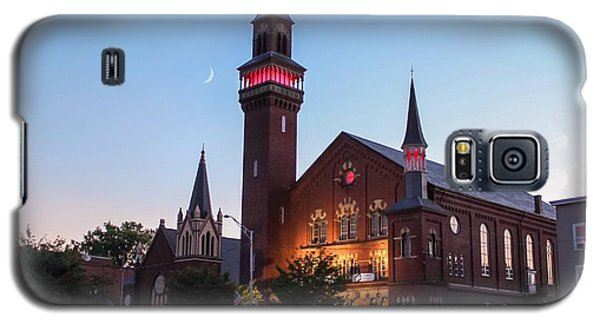 Crescent Moon Old Town Hall Galaxy S5 Case