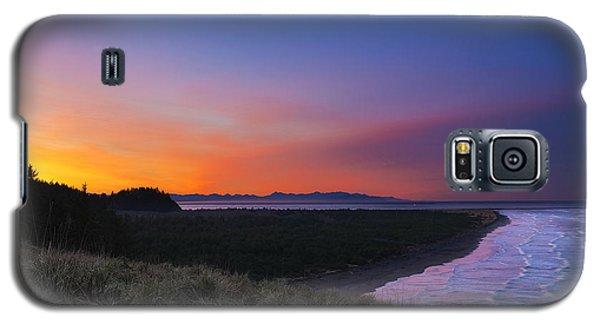 Crescent Moon Sunrise Galaxy S5 Case by Ryan Manuel