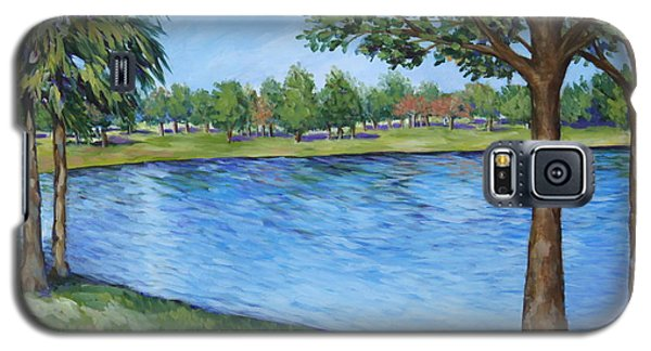 Crest Lake Park Galaxy S5 Case by Penny Birch-Williams