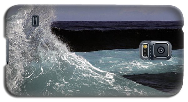 Crest, North Beach, Oahu Galaxy S5 Case