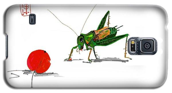 Cricket  Joy With Cherry Galaxy S5 Case