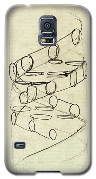 Cricks Original Dna Sketch Galaxy S5 Case