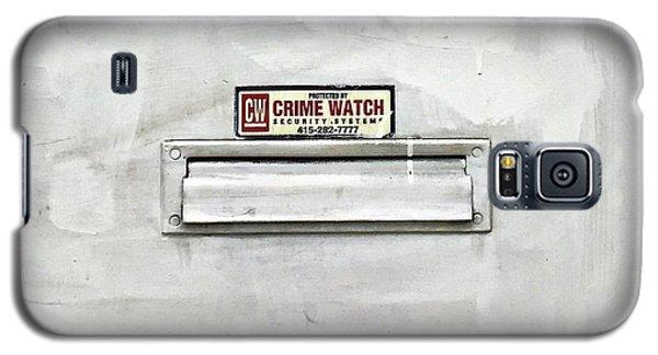 Crime Watch Mailslot Galaxy S5 Case