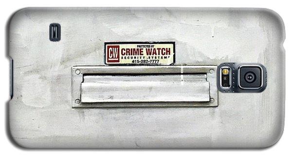 Galaxy S5 Case - Crime Watch Mailslot by Julie Gebhardt