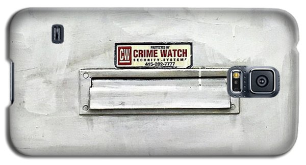 Galaxy S5 Case - Crime Watch Mailslot by Julie Gebhardt