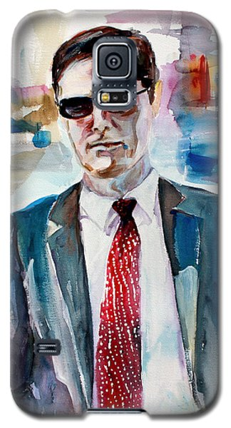 Criminal Minds Aaron Hotchner The Way I See Him Galaxy S5 Case