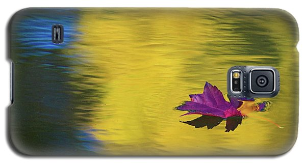 Galaxy S5 Case featuring the photograph Crimson And Gold by Steve Stuller