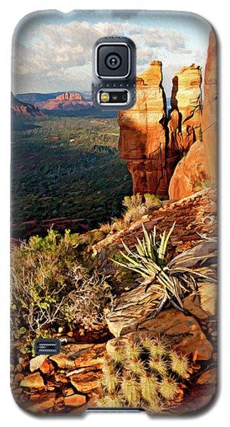 Crimson Cliffs 08-064 Galaxy S5 Case