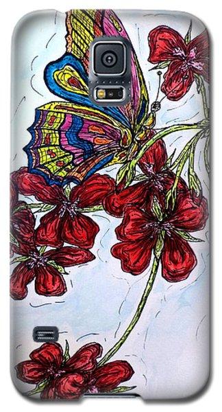 Crimson Fancy Galaxy S5 Case