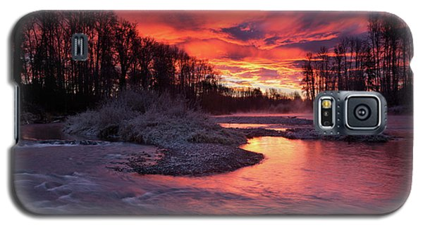 Sage Island Sunrise Galaxy S5 Case
