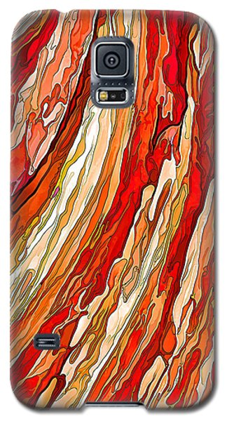 Crimson Tide Galaxy S5 Case by ABeautifulSky Photography