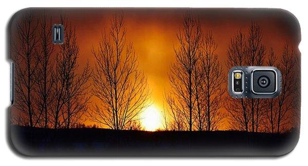 Crisp Sunset Galaxy S5 Case