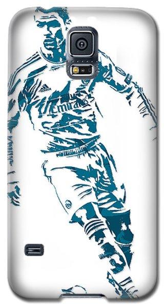 Cristiano Ronaldo Real Madrid Pixel Art 1 Galaxy S5 Case