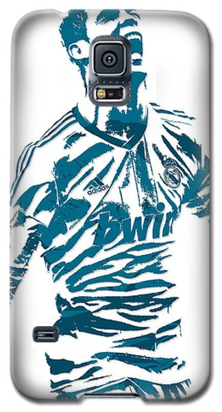 Cristiano Ronaldo Real Madrid Pixel Art 4 Galaxy S5 Case