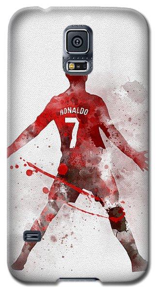 Cristiano Ronaldo United Galaxy S5 Case