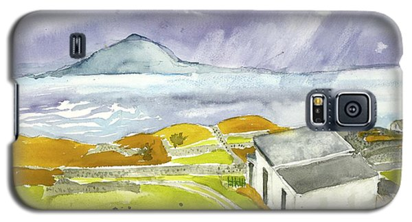 Croagh Patrick And Purple Sky Galaxy S5 Case