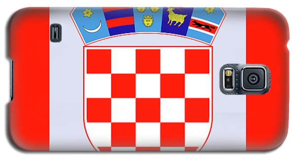 Croatia Coat Of Arms Galaxy S5 Case by Movie Poster Prints