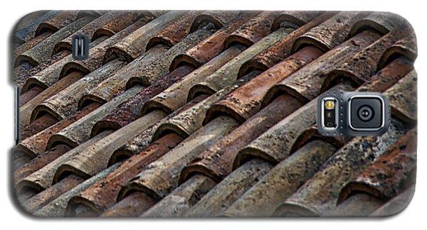 Croatian Roof Tiles Galaxy S5 Case