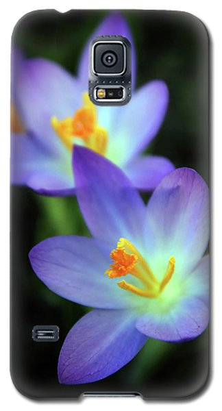 Galaxy S5 Case featuring the photograph Crocus In Bloom by Jessica Jenney