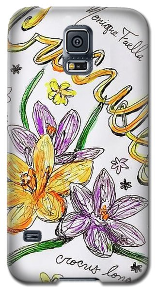 Crocuses Galaxy S5 Case
