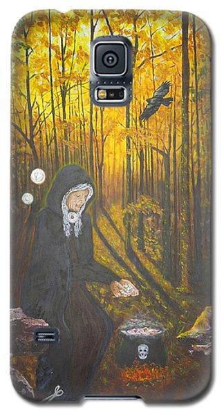 Crone Goddess Keridwen - Samhain Galaxy S5 Case