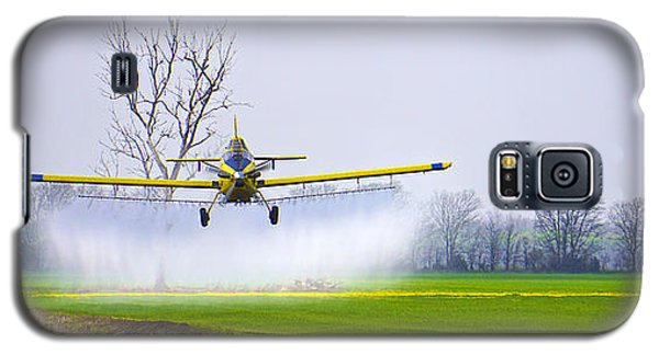 Precision Flying - Crop Dusting 1 Of 2 Galaxy S5 Case