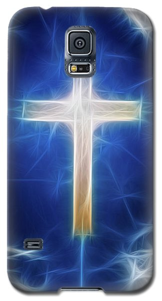 Cross Abstract Galaxy S5 Case by Bruce Rolff