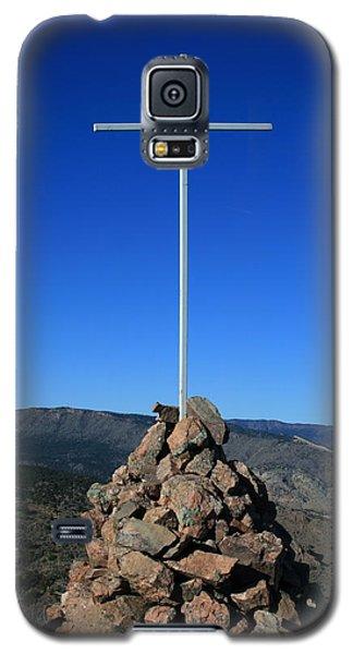 Cross On Fremont Peak Galaxy S5 Case