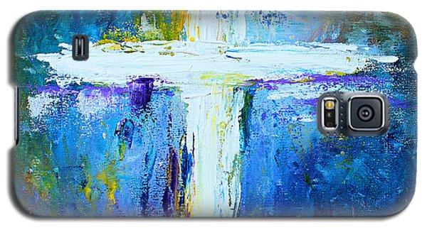 Cross - Painting #4 Galaxy S5 Case