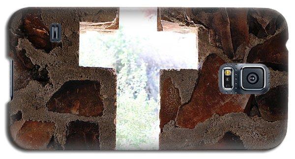 Cross Shaped Window In Chapel  Galaxy S5 Case