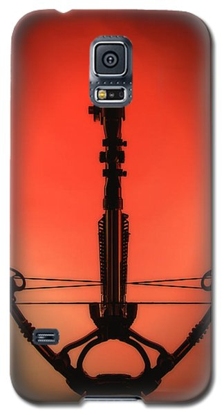 Galaxy S5 Case featuring the photograph Crossbow by Tim Nichols
