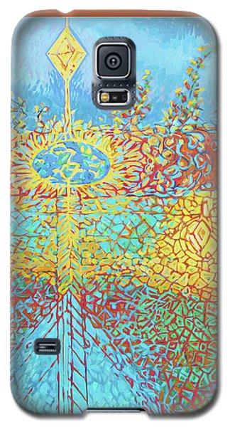 Crosscut Earth Galaxy S5 Case
