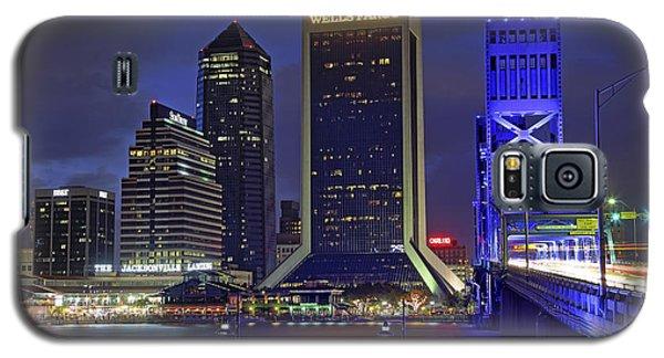 Crossing The Main Street Bridge - Jacksonville - Florida - Cityscape Galaxy S5 Case