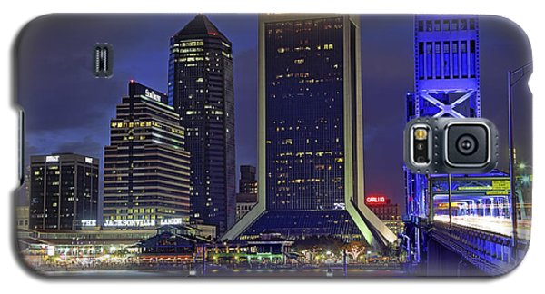 Crossing The Main Street Bridge - Jacksonville - Florida - Cityscape Galaxy S5 Case