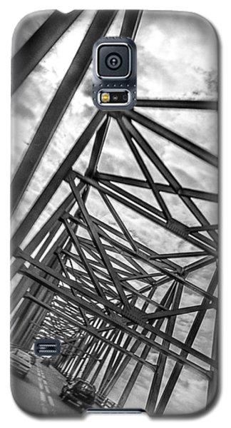 Crossing Through The Chesapeake Bay Bridge Galaxy S5 Case