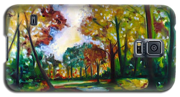 Galaxy S5 Case featuring the painting Crossroads by Emery Franklin