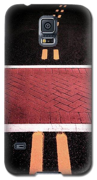 Crosswalk Conversion Of Traffic Lines Galaxy S5 Case