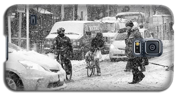Crosswalk In Snow Galaxy S5 Case