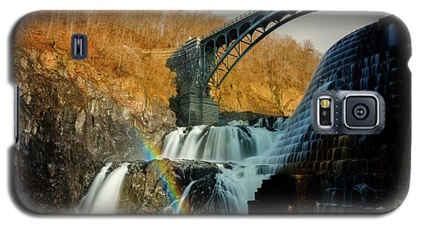 Croton Dam Rainbow Spray Galaxy S5 Case