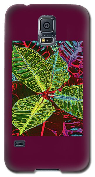 Croton - Deep Green Galaxy S5 Case