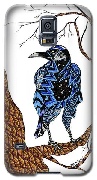 Crow Galaxy S5 Case